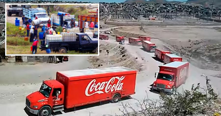 Revelan que Coca Cola compraba huachicol para abastecer a sus vehículos
