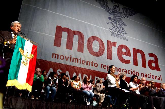 Encuesta revela que Morena arrasará en los 6 estados donde habrá elecciones este 2019