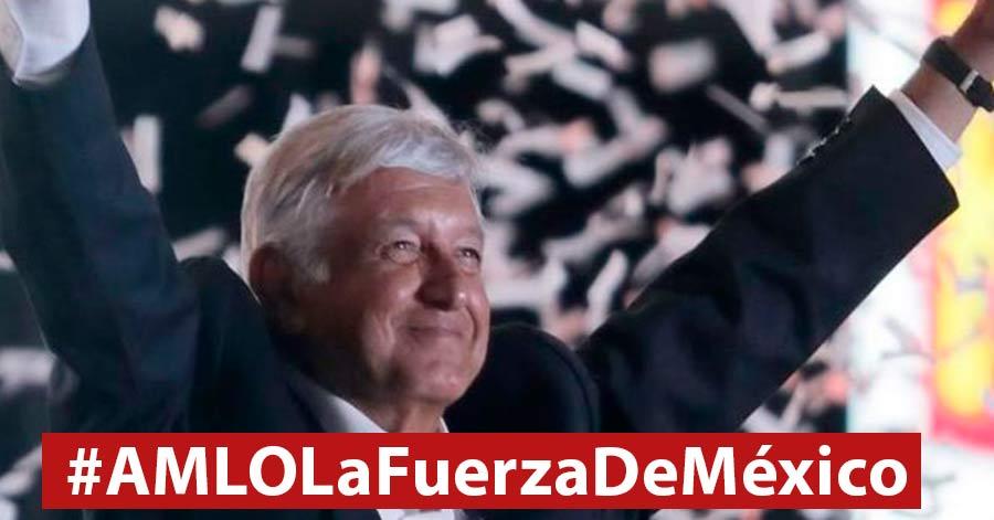 Tras la marcha contra AMLO, mexicanos se unen para defenderlo; arrasa hashtag #AMLOLaFuerzaDeMéxico
