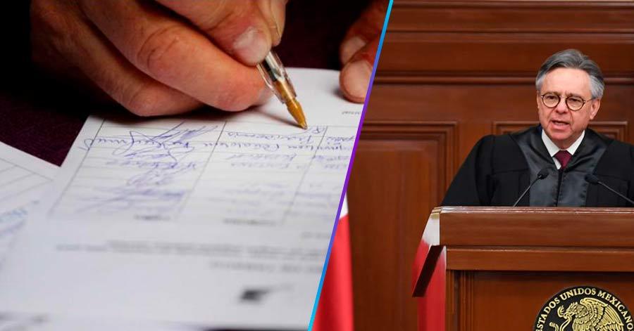 Recogen firmas para que renuncie ministro Medina Mora por corrupción y sospechosas relaciones con el PRIAN; van más de 20 mil firmas