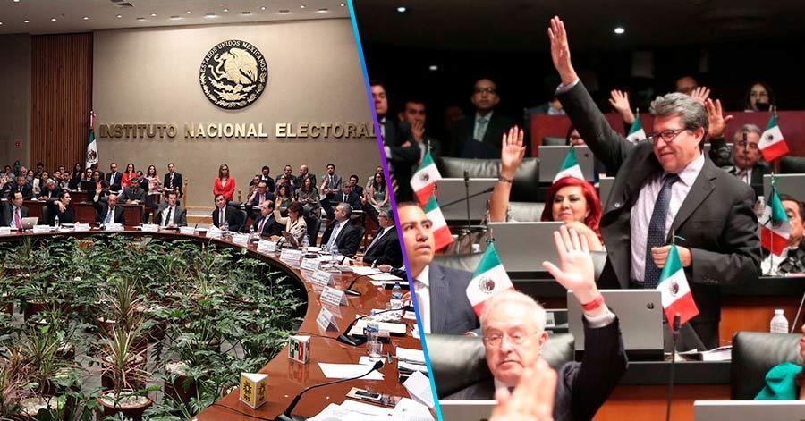 Morena advierte que ya no va a reducir al INE, mejor lo va desaparecer…