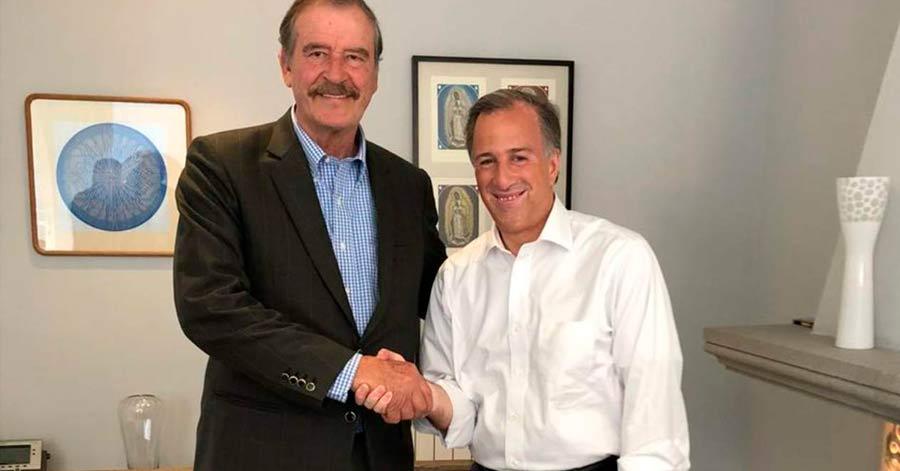 Fox sugiere que AMLO debería incluir al priista Meade en su gabinete…