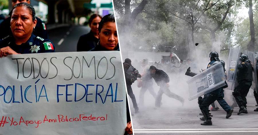 La policía Federal reprimió a maestros por no aceptar evaluación, y ahora protestan porque no quieren que los evalúen; la CNTE se burla