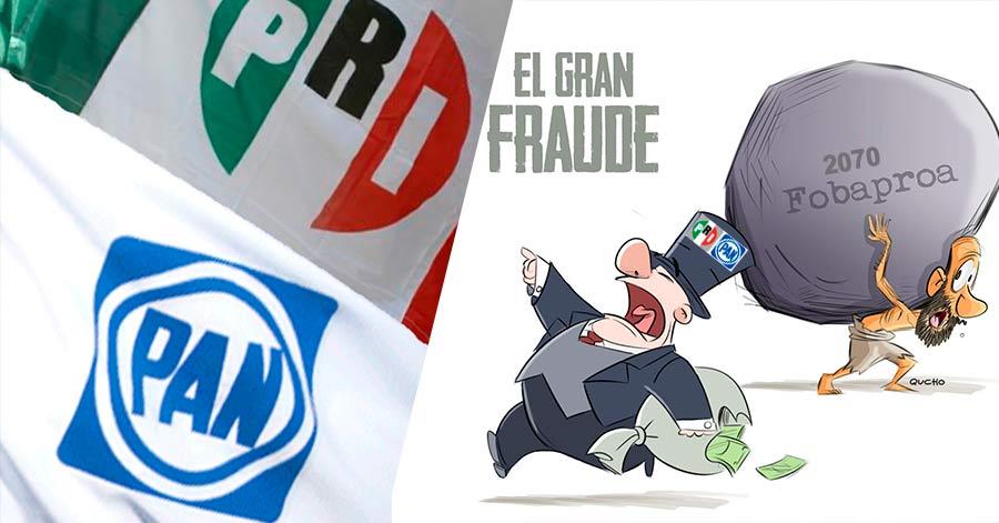 El Fobaproa, la deuda interminable del PRIAN que se terminará de pagar en  50 años - Nación Unida